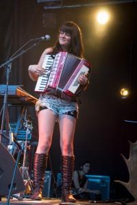 Jacynthe Morand, accordéon.