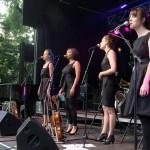 Les 4 choristes féminines